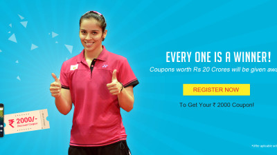 register and get Rs2000 coupon