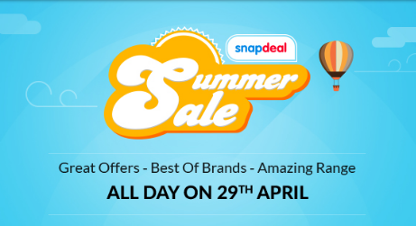 snapdeal summer sale