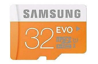 samsung evo 32gb memory card