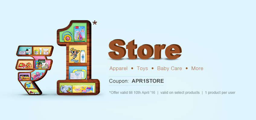 Re.1 Store of Apparel, Toys, Baby Care & More