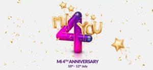 Mi 4th Anniversary Sale