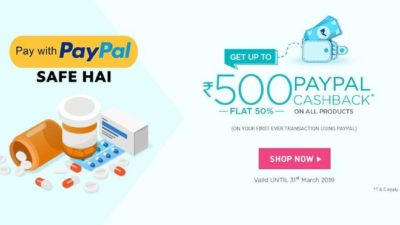 netmeds paypal offer