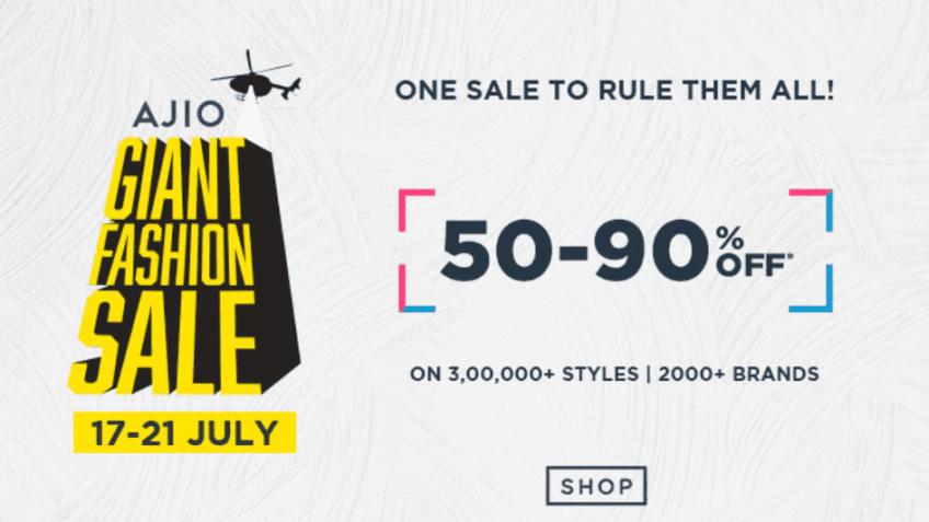 ajio fashion sale